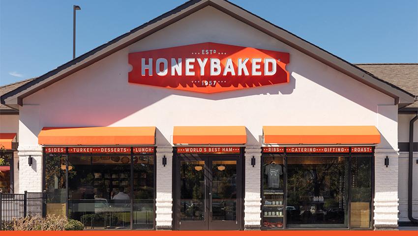 Honeybaked restaurant.